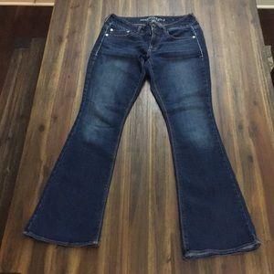 American Eagle Artist flap pocket jeans